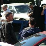 Ben Affleck: Ben Affleck talking to Jon Hamm #2