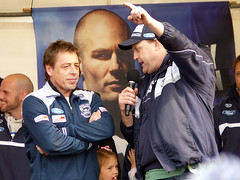 Mark Thompson & Billy Brownless - Geelong Post Grand Final Supporters Day - P1170467