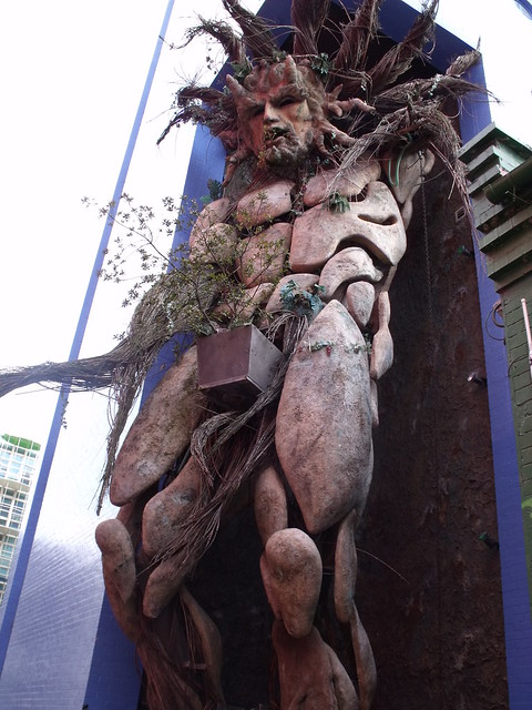 Green Man - The Custard Factory - Digbeth / Deritend