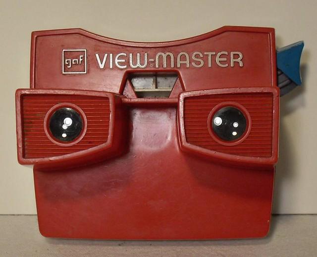 Vintage 1960s GAF Viewmaster Viewer