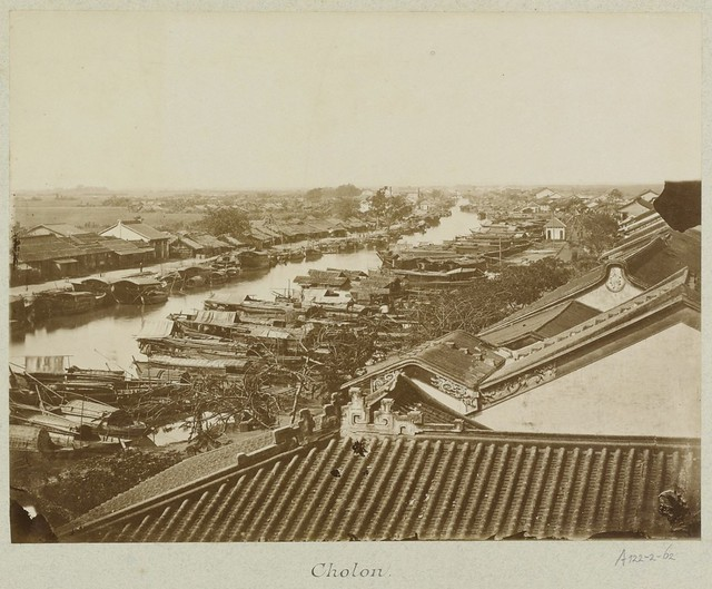 CHOLON 1888 - The Chinese district of Saigon