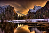 Valley View, Sunrise, Yosemite National Park by Jim Shoemaker Photography