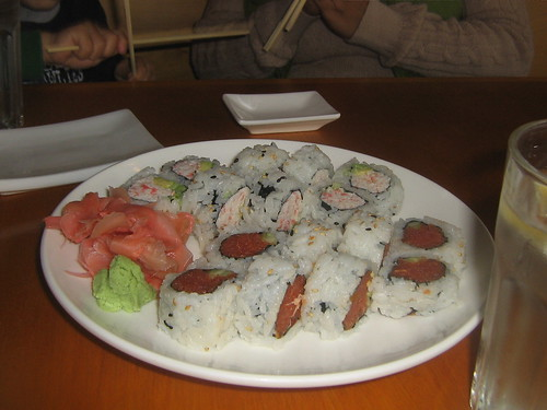 Rate a restaurant 198 blue fish sushi rate a restaurant for Blue fish sushi