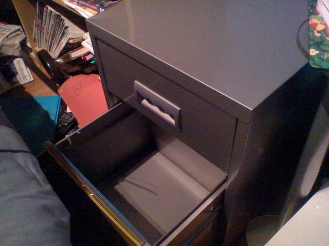 Filing Cabinet Open Drawer Flickr Photo Sharing