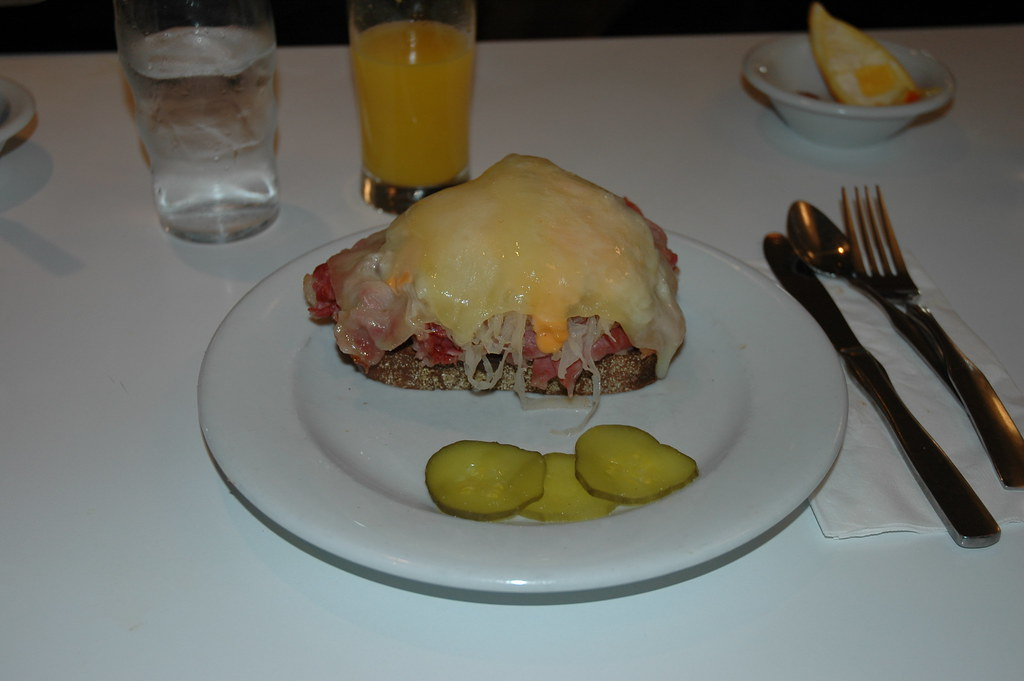 Reuben Sandwich at Lou Mitchell's Restaurant