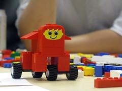 Smiling Lego Animal 1