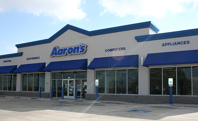 Aaron s Rents Furniture Retail Store