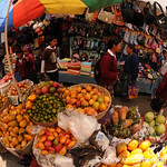 Totonicapan Market, Fruit Stand - Guatemala