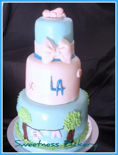 baseball baby shower cake flickr photo sharing