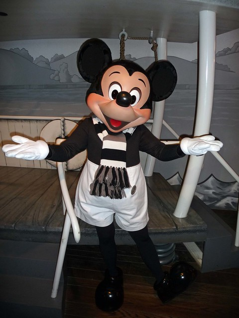 Meeting Steamboat Willie Mickey