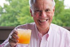 drinking, senior citizen, drink, person,