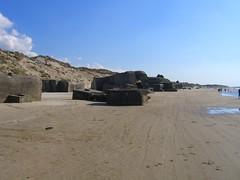 Old Bunker Ruins in Løkken, Denmark