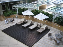 daylighting, outdoor structure, furniture, canopy, roof, property, pergola, table, patio,