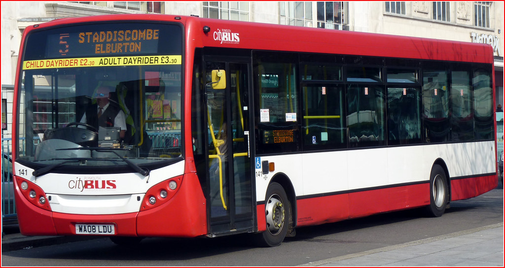 Plymouth Citybus 141 WA08LDU
