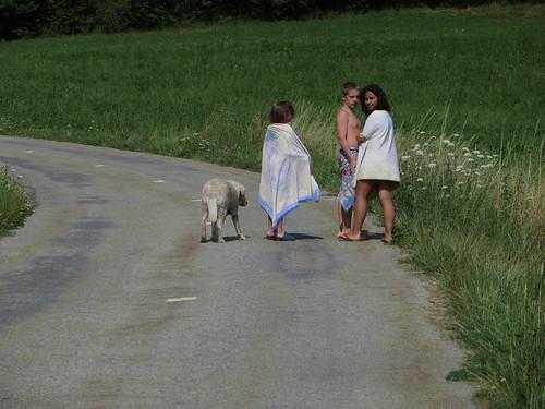20130814 06 147 Jakobus Weg Kinder Hund
