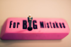 For Big Mistakes...