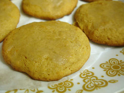 Belgian White Beer Cookies With Orange Icing Recipe — Dishmaps