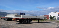 vehicle, transport, freight transport, trailer, land vehicle,