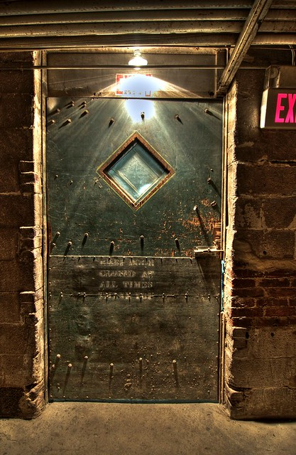 The Creepy Tunnel Door