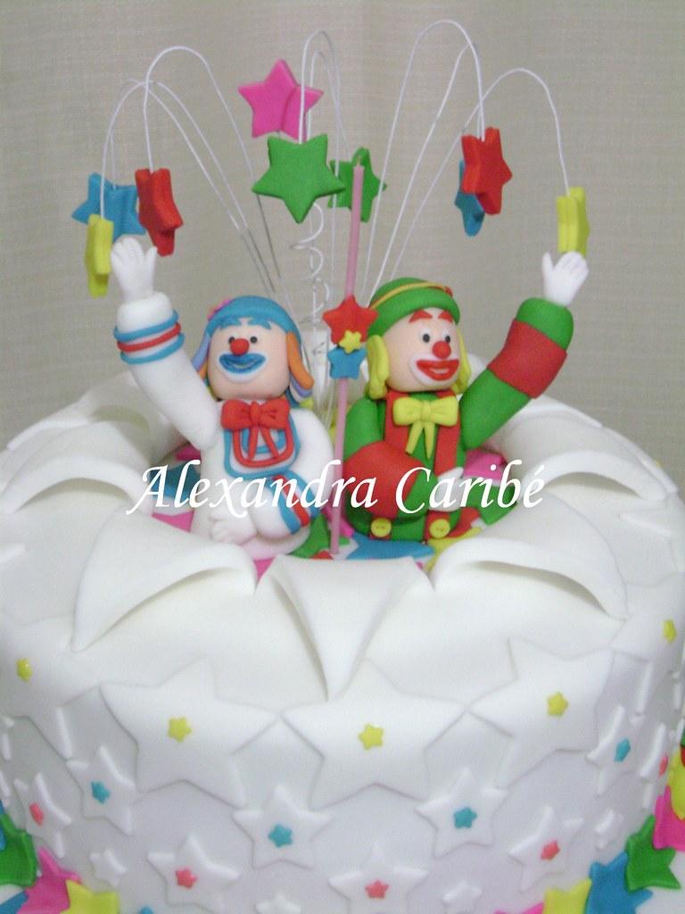 Bolo circo patati patata (detalhes) - Circus cake (details)