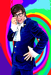 Austin Powers impersonator John Di Domenico