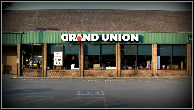 Grand Union doesn't live in Jersey anymore