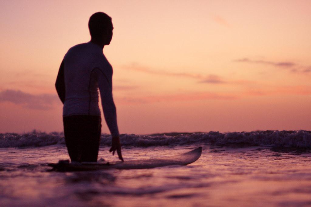 Surfing Cocoa Beach Florida
