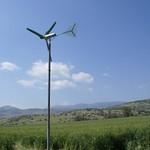 Commercial on grid mini wind farm