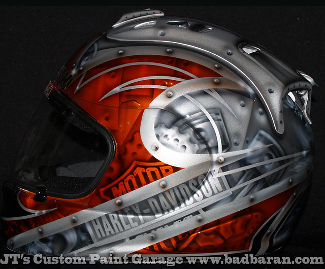 Motorcycle Paint Metal And Plastic