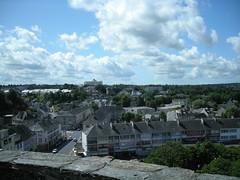 Vue sur Saint-Lô depuis les fortifications