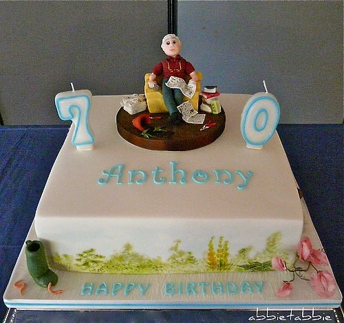 Cake Designs For 70 Year Old Man : 70th Birthday Cake Flickr - Photo Sharing!