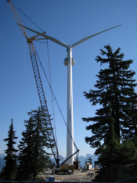 Eye of the Wind energy tower at Grouse Mountain | Flickr - Photo ...