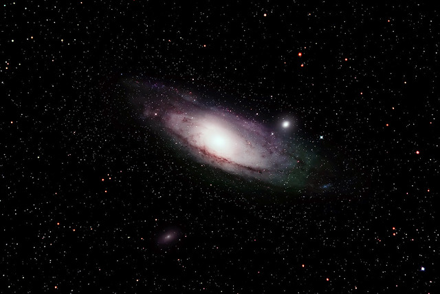 M31 The andromeda Galaxy - B Kingsley
