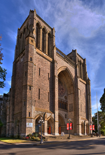 Christ Church Cathedral: Victoria B.C (HDR series)