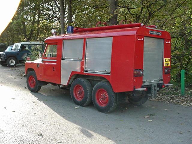 a528 wnp 6 wheel land rover stage 1 v8 fire engine. Black Bedroom Furniture Sets. Home Design Ideas