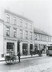 Stoppenbrinks Vinhandel i Olav Tryggvasons gate 7 (ca. 1900)