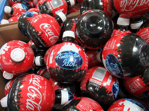 Coca Cola American Idol Bottles