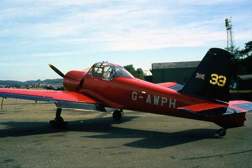PERCIVAL P56 PROVOST T1 G-AWPH
