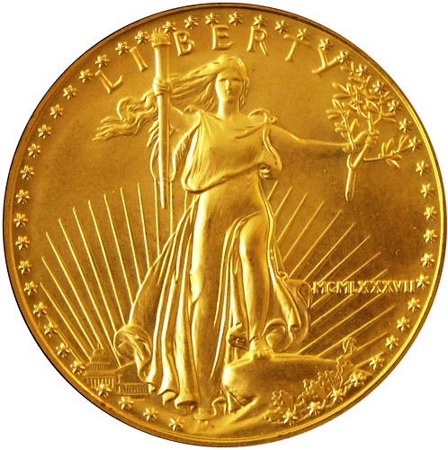 U.S. gold five dollar 1987