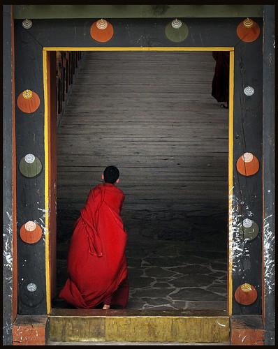 bhutan monk dzong punaka anawesomeshot mauekay