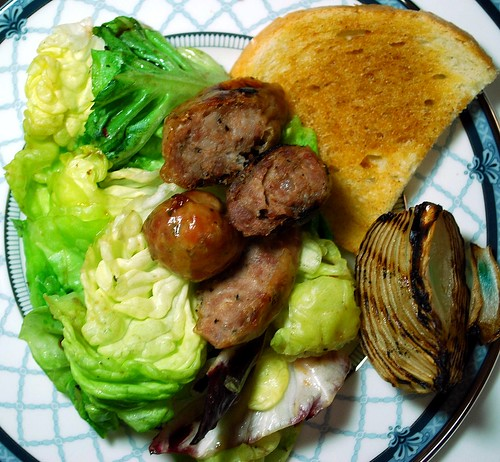 Grilled Sausage Salad 2