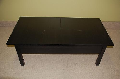 IKEA Coffee Table w/Leaf & Storage $45