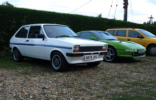 Fiesta 1300S and MR2