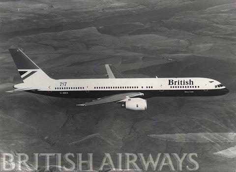 1970s - British Airways Boeing 757 - 236 G-BIKA