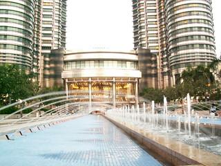 Petronas Towers Water Courtyard