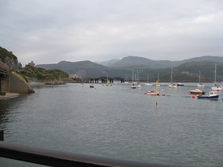 Barmouth Bridge and the Afon Mawddach estuary
