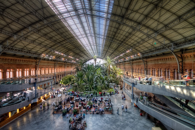 Estación de Atocha, Madrid HDR 2