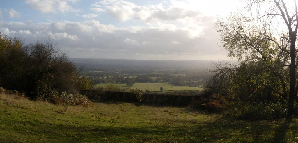 View from the ridge Sevenoaks Circular