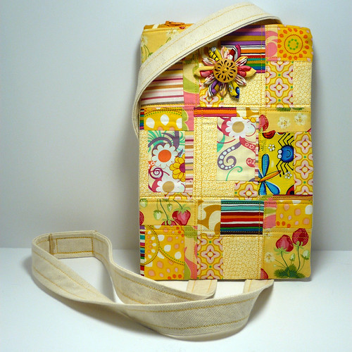 Yellow Scrap Hip Bag