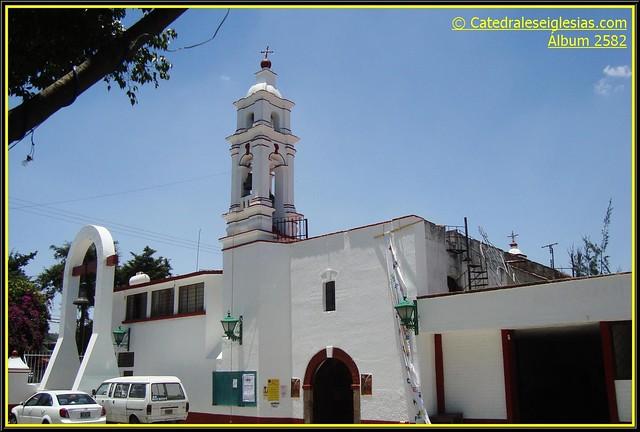 Parroquia San Mateo Apóstol,San Mateo Tecoloapan,Atizapán,México